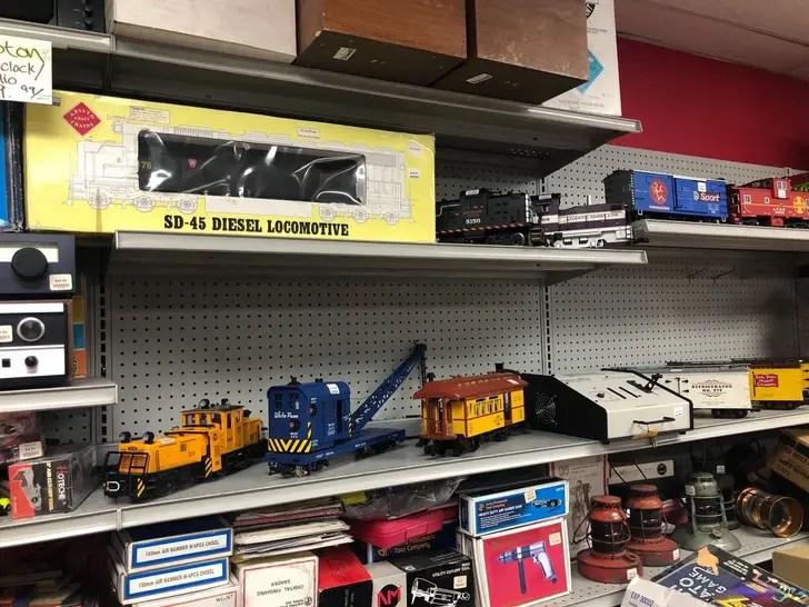 Daniel Baldwin's Train Collection -- Off The Rails!