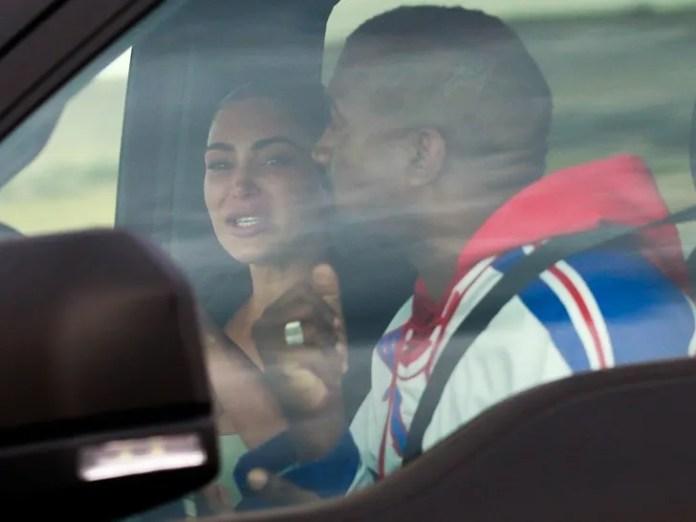 Kim y Kanye - Reunión llorosa