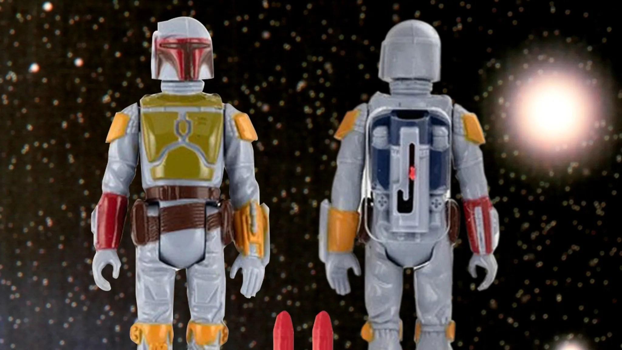 Rarest Star Wars Toy Ever Hits Auction Block Missile Firing Boba Fett