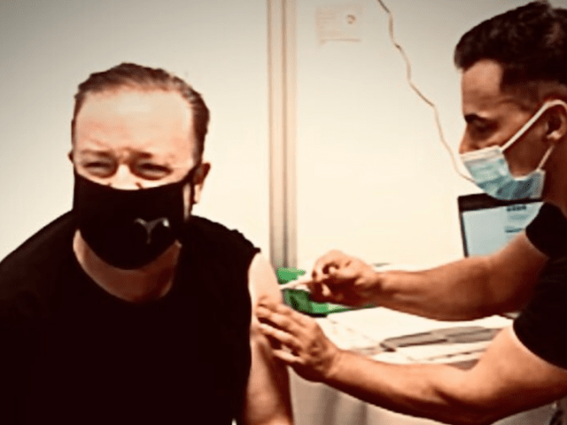Celebs Getting The COVID-19 Vaccine