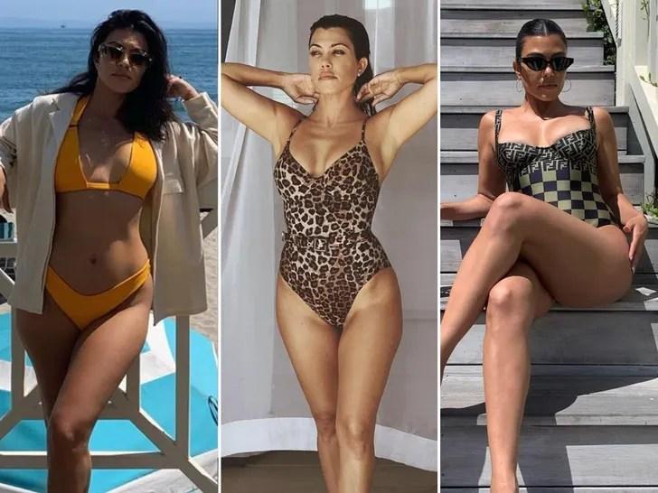 Kourtney Kardashian's 2020 Hot Shots