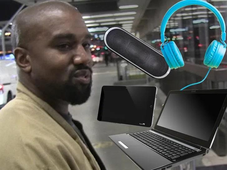 kanye west electronics