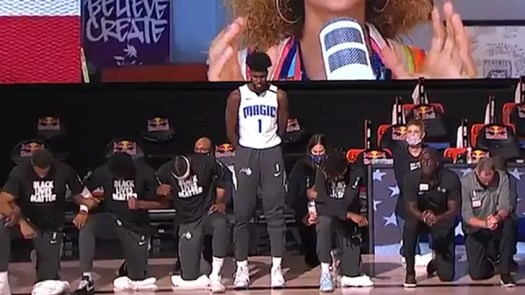 NBA's Jonathan Isaac Tears ACL 2 Days After Anthem Standing Demonstration 2