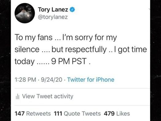 Tory Lanez Denies Megan Thee Stallion's Shooting Claims on New Album 2