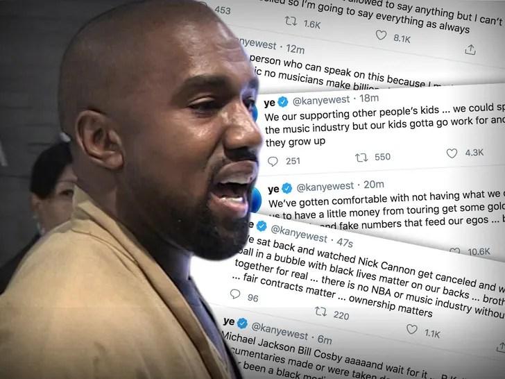 Kanye's Morning Twitter Rant