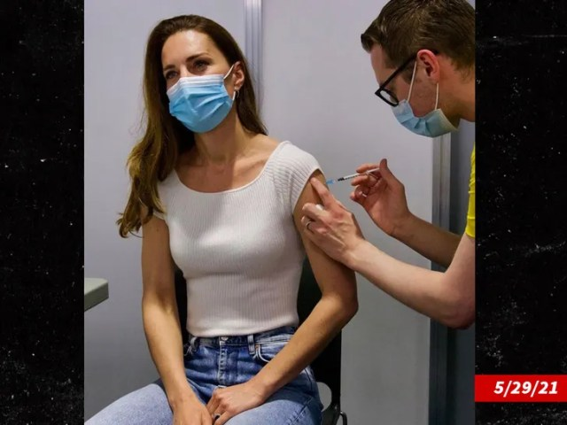 Kate Middleton getting Covid vaccine