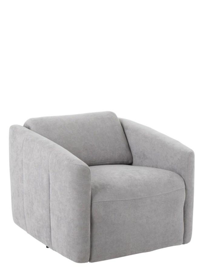 zetel/relax 1 persoon linnen grijs