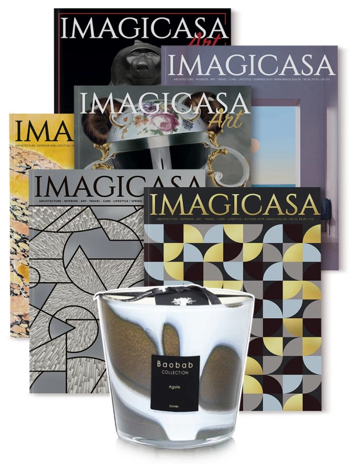 Imagicasa Abonnement + gratis exclusieve Baobab Collection Agate geurkaars