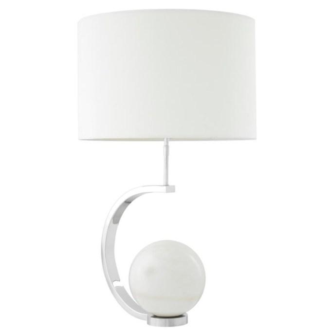 Luigi Tafellamp -Nickel