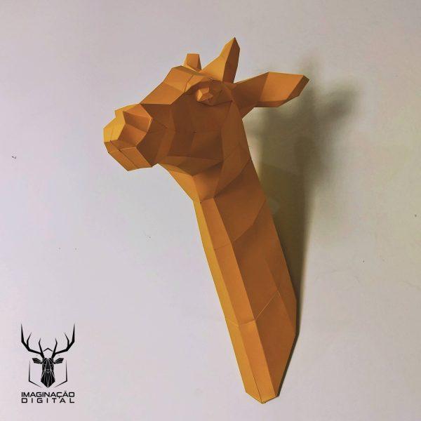troféu de girafa