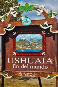 Ushuaia - Placa
