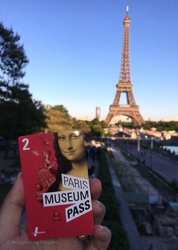 Paris Museum Pass - Paris Museum Pass © Imagina na Viagem