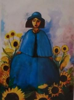 Frida1 - 28x20cm - Acuarela sobre Papel