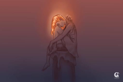 Light me up - Pintura digital