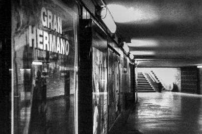 Gran Hermano, metro Barcelona