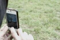 Big Ben via Iphone