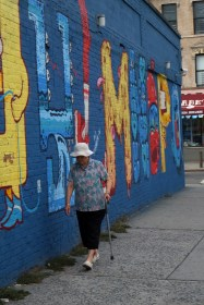 East Village graffiti Alphabet city #02