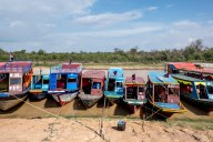 Lake taxis #Tonlesap