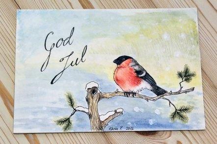 Imaginary Karin - Christmas bullfinch 2016