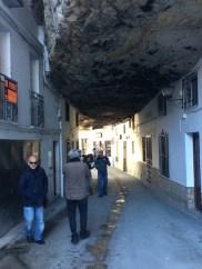 Con Rafael Vargas, en las Cuevas de la Sombra.