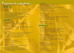 Programa de la Fiesta del Aceite de Setenil.