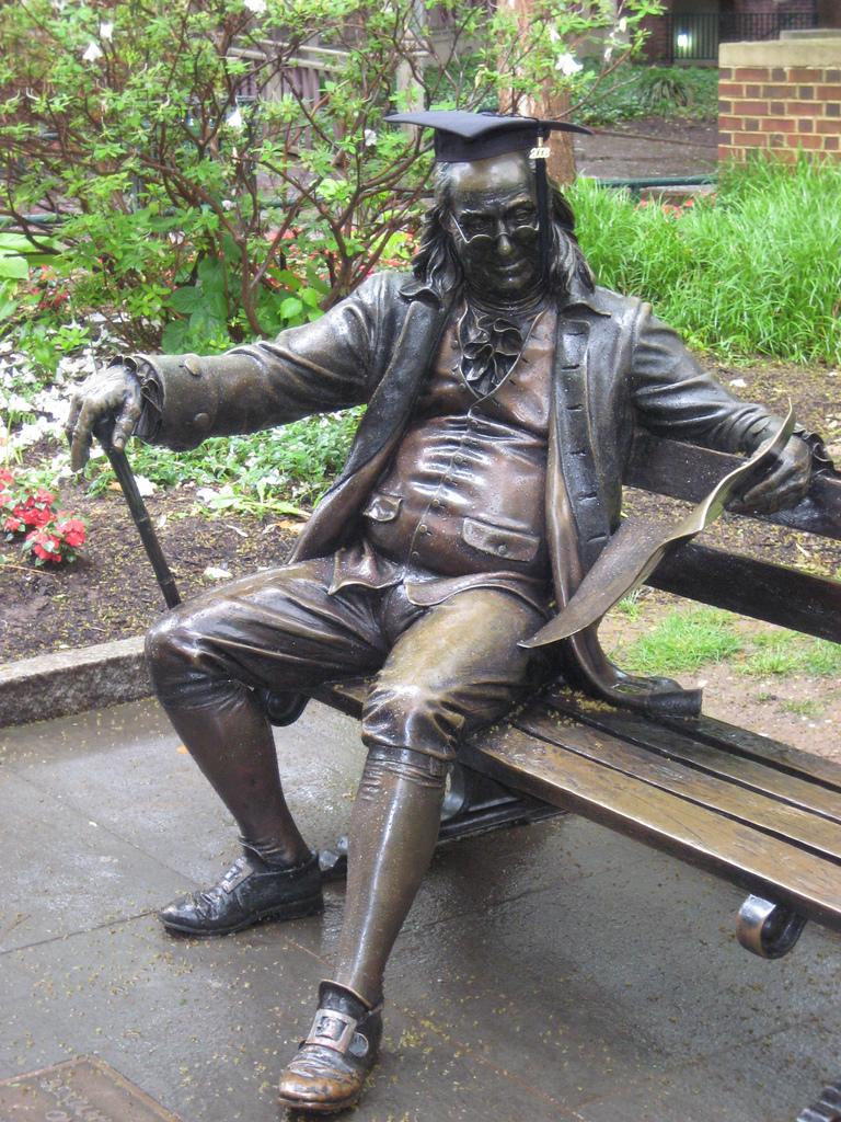 Franklin Graduating at Wharton by SolYoung*