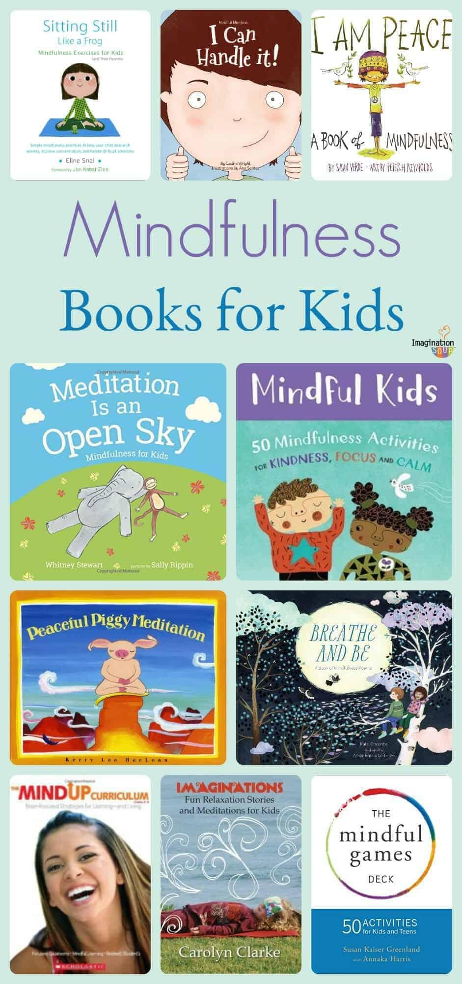 The Big List Of Mindfulness Books For Kids Imagination Soup