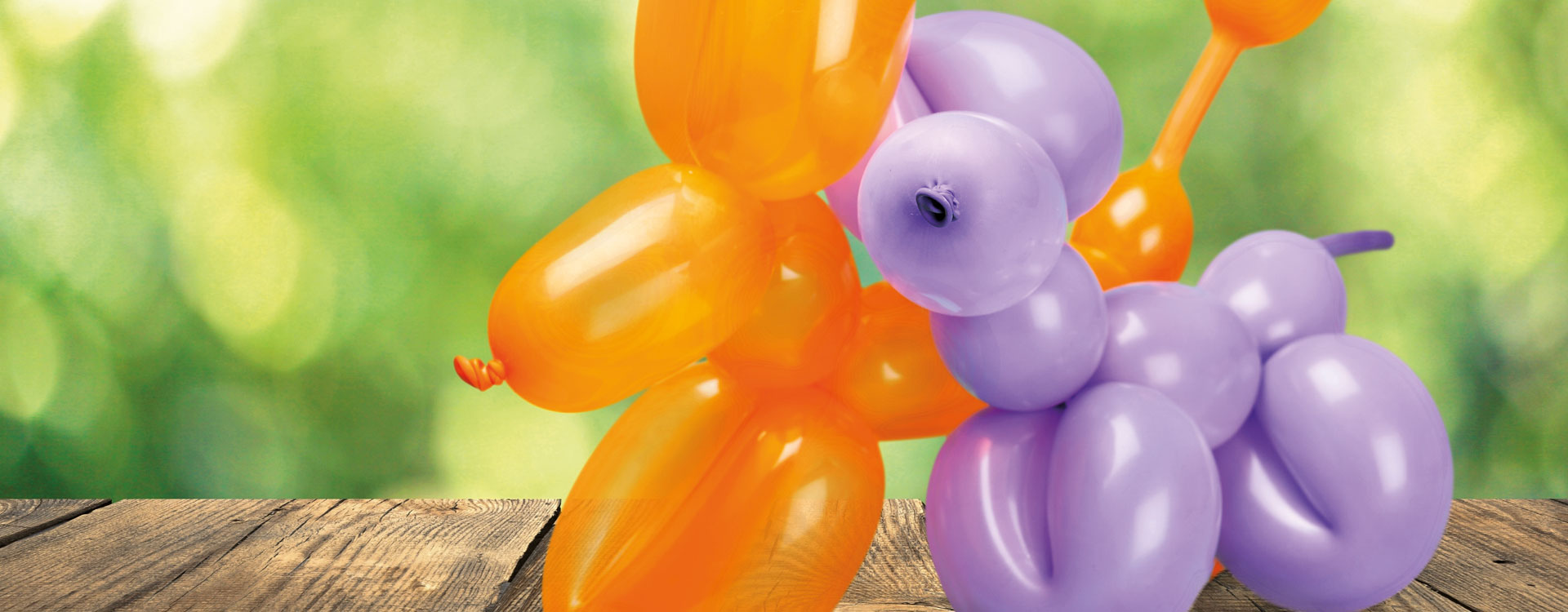 animations chien en ballons