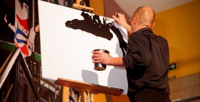 peinture rapide