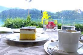 Enjoying by the Bled Lake