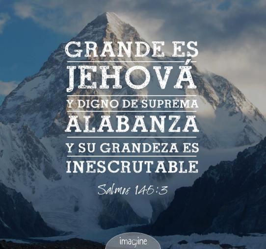 Grande es Jehová