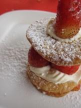 Dessert at Le Safran.