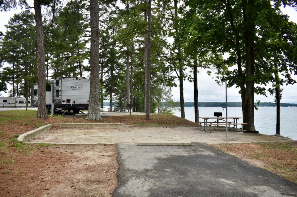 Old Federal Campground Site 30