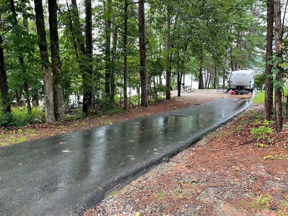 Site 109 Duckett Mill Campground