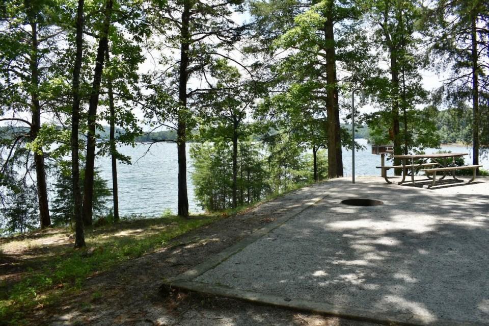Site 4 Duckett Mill Campground