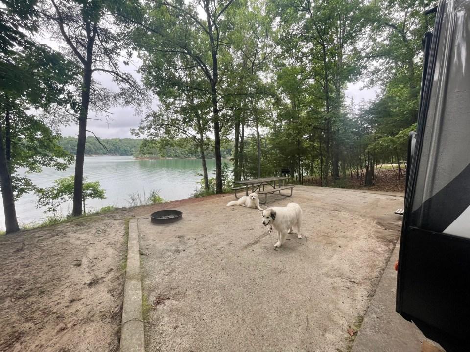 Site 3 Duckett Mill Campground