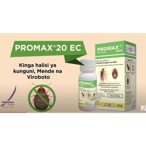 Promax 20 EC Insecticide For BedBugs Ants Cockroaches Mites Lice Fleas Tick No Smell Pesticide