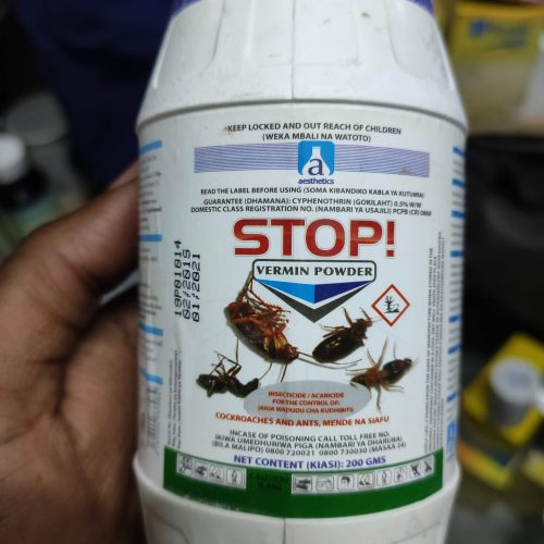 Stop! Vermin Powder Dust
