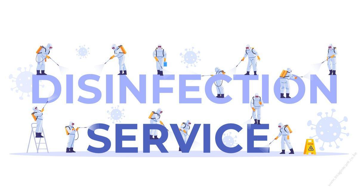using disinfectants