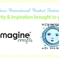 THINK BIG with IMAGINE Crafts and RubberMoon Stamps