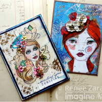 Flowers in Her Hair Card Set