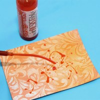Dazzle Your Friends with Tantalizing Tangerine Card