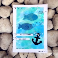 "Here Are 2 Fabulous ""You are My Anchor"" Handmade Cards"
