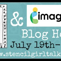 This is Day 2 of the StencilGirl Blog Hop
