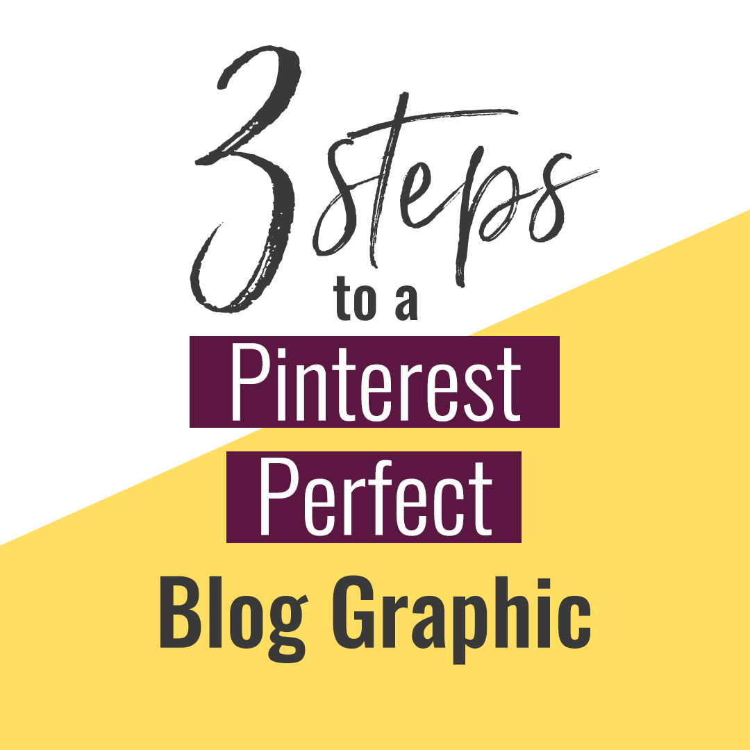 When I design a blog post graphic, I think about what will work well on Pinterest. Today, I share my formula with you.