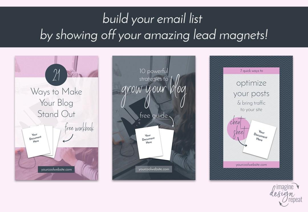 Social Media Starter Pack   Imagine Design Repeat