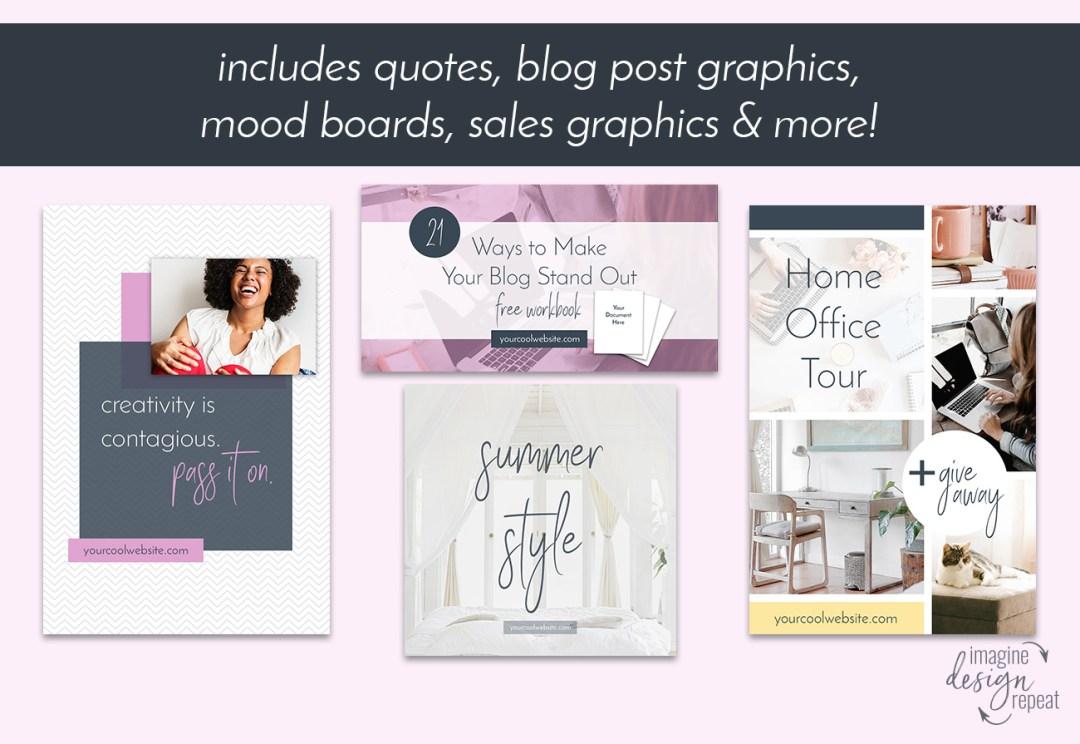 Social Media Starter Pack | Imagine Design Repeat