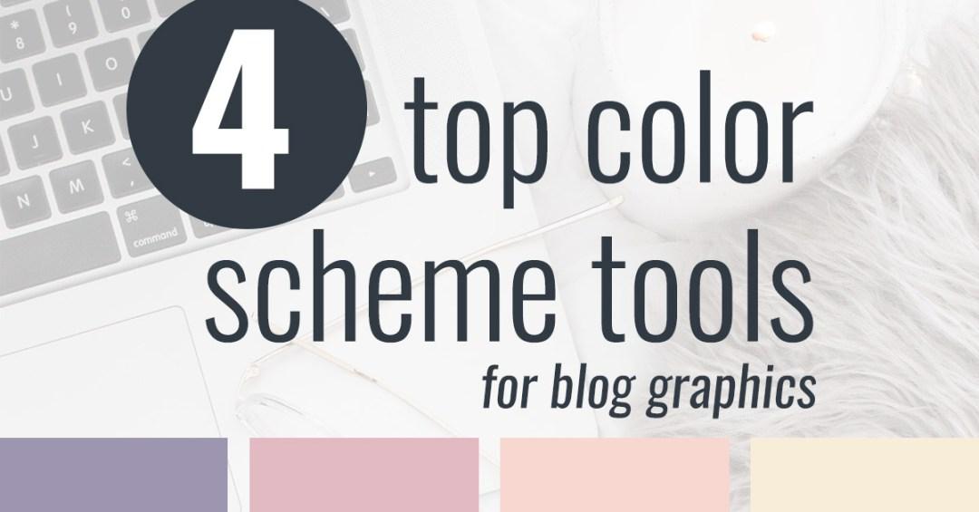 4 Color Scheme Tools For Blog Graphics Imagine Design Repeat