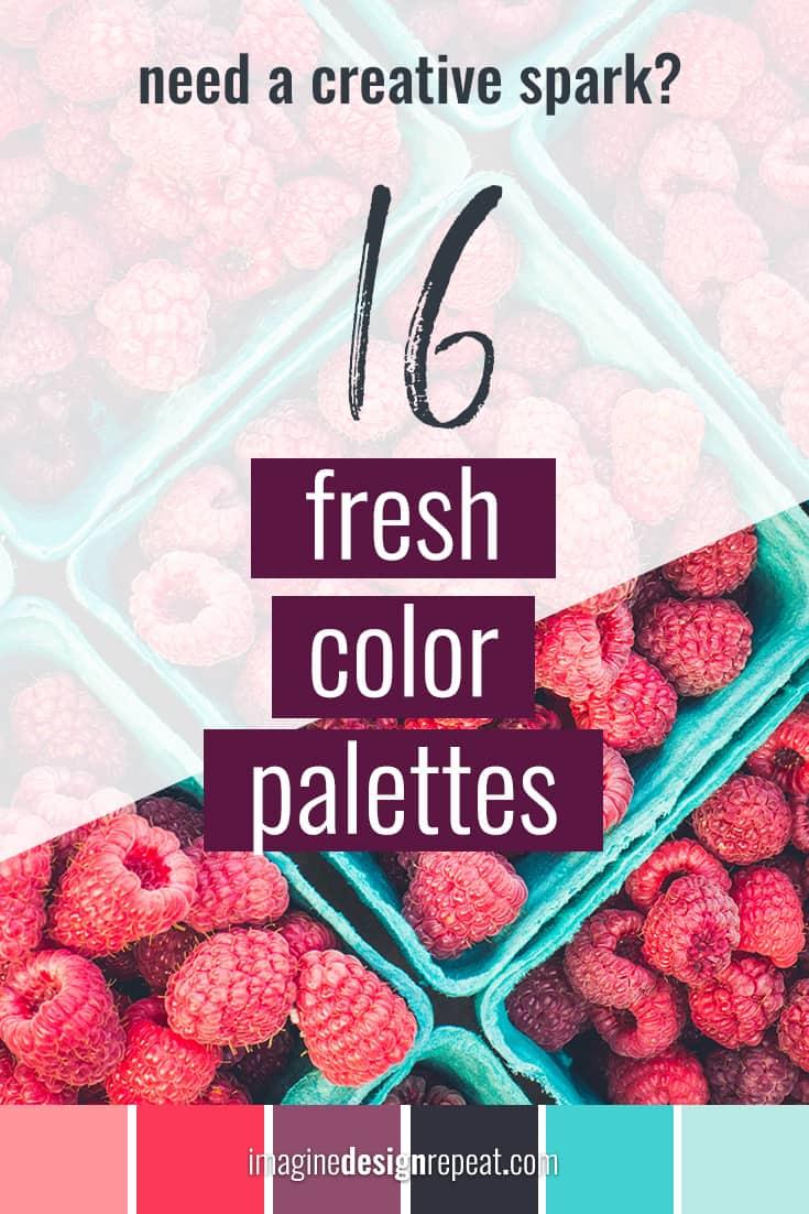 16 Fresh Color Palettes