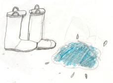 Boots Go Splish Splash